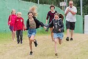 Pilton, Somerset, UK. 29th June 2019. Energy of youth - The 2019 Glastonbury Festival, Worthy Farm. Glastonbury.