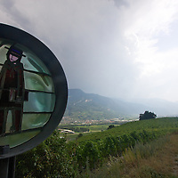 The end of the trail of Farinet - following the path of a legend in Saillon. A quiet place of contemplation and reflection, and home to the world's smallest vineyard. Well worth your time to hike up from the valley floor!