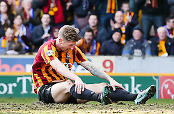Bradford City's Jon Stead looks disappointed after missing a chance - Photo mandatory by-line: Matt McNulty/JMP - Mobile: 07966 386802 - 07/03/2015 - SPORT - Football - Bradford - Valley Parade - Bradford City v Reading - FA Cup - Quarter Final