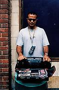 Bootlegger, Camden street market, London 1994