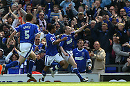 Ipswich - Sunday Aprll 19th 2009: Alan Quinn Of Ipswich Town celebrates scoring the equalizing goal during the Coca Cola League Championship match at Portman Road, Ipswich. (Pic by Paul Chesterton/Focus Images)