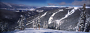 View From North Peak, Keystone Ski Area, Colorado