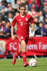 15.05.2010,  Stadion Langerwehe, Langerwehe, GER, FSP, Stadtauswahl Dueren vs FC Bayern Muenchen, im Bild: Philipp Lahm (Muenchen #21)   EXPA Pictures © 2011, PhotoCredit: EXPA/ nph/  Mueller       ****** out of GER / SWE / CRO  / BEL ******