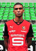Cedric HOUNTONDJI - 19.09.2013 - Photo officielle - Rennes - Ligue 1<br /> Photo : Philippe Le Brech / Icon Sport