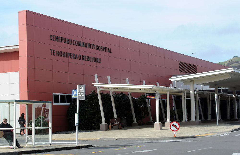 Kenepuru Community Hospital, Porirua, Wellington, New Zealand, Thursday, July 18, 2013. Credit:SNPA / Ross Setford
