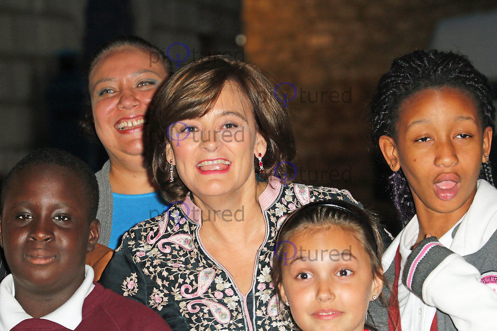Cherie Blair, Dot Com Children's Foundation Strictly Ballroom - charity dinner, The Mansion House, London UK, 16 September 2014, Photo by Richard Goldschmidt