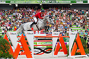 Ludger Beerbaum - Chiara<br /> Alltech FEI World Equestrian Games™ 2014 - Normandy, France.<br /> © DigiShots