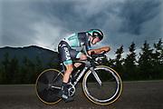 Patrick Konrad (AUT - Bora - Hansgrohe) during the 101th Tour of Italy, Giro d'Italia 2018, stage 16, Trento - Rovereto 34.5 km on May 22, 2018 in Italy - Photo Dario Belingheri / BettiniPhoto / ProSportsImages / DPPI
