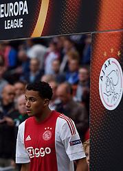 17-09-2015 NED: UEFA Europa League AFC Ajax - Celtic FC, Amsterdam<br /> Ajax heeft in zijn eerste duel in de Europa League thuis moeizaam met 2-2 gelijkgespeeld tegen Celtic / Jairo Riedewald #22