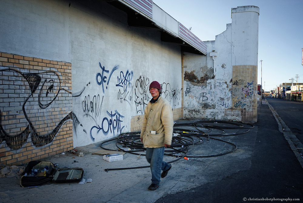 Homeless People in Capetown, South Africa
