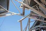 Construccion del Biomuseo de Panama. Primer edificio diseñado por Frank Gehry en America Latina. Panama, <br /> 13 de enero de 2012. (Victoria  Murillo/ Istmophoto)