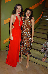 Left to right, actress JAIME MURRAY and LAUREN KEMP at a fashion show by ISSA held at Cocoon, 65 Regent Street, London on 21st September 2005.<br /><br />NON EXCLUSIVE - WORLD RIGHTS