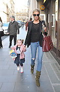 08.FEBRUARY.2013. LIVERPOOL<br /> <br /> ABBEY CLANCY AND DAUGHTER SOPHIA RUBY ARRIVING AT THE LIVERPOOL DENTAL SPA AFTER A TRIP TO McDONALDS.<br /> <br /> BYLINE: EDBIMAGEARCHIVE.CO.UK<br /> <br /> *THIS IMAGE IS STRICTLY FOR UK NEWSPAPERS AND MAGAZINES ONLY*<br /> *FOR WORLD WIDE SALES AND WEB USE PLEASE CONTACT EDBIMAGEARCHIVE - 0208 954 5968*