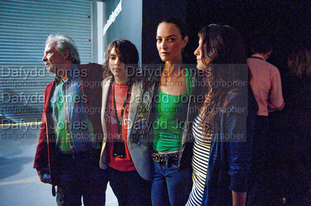 DAVID BAILEY; SASCHA BAILEY, CATHERINE BAILEY; PALOMA BAILEY, Nokia and Daid Bailey celebrate London ' Alive at Night' to launch Nokia N86. the Old Dairy, 6 Wakefield st. London. WC1. 26 August 2009.