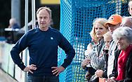 UTRECHT - manager Jeroen Ottevanger (Bldaal)   voor   de hockey hoofdklasse competitiewedstrijd heren:  Kampong-Bloemendaal (3-3).    COPYRIGHT KOEN SUYK