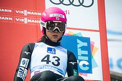 SETO Yuka (JPN) during practice round on Day 1 of FIS Ski Jumping World Cup Ladies Ljubno 2020, on February 22th, 2020 in Ljubno ob Savinji, Ljubno ob Savinji, Slovenia. Photo by Matic Ritonja / Sportida