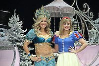 Melinda Messenger; Tina O'Brien First Family Entertainment Pantomime photocall, Piccadilly Theatre, London UK, 26 November 2010: piQtured Sales: Ian@Piqtured.com +44(0)791 626 2580 (picture by Richard Goldschmidt)