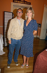 A A GILL and NICOLA FORMBY at a party to celebrate the publication of 'A Much Married Man' by Nicholas Coleridge held at the ESU, Dartmouth House,  37 Charles Street, London W1 on 4th May 2006.<br />