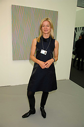 LADY HELEN TAYLOR at the opening of Frieze Art Fair 2007 held in regent's Park, London on 10th October 2007.<br />