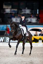 Holkenbrink, Sophie (GER) Rock Forever NRW<br /> Stuttgart - German Masters 2016<br /> © www.sportfotos-lafrentz.de