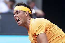 May 9, 2018 - Madrid, Spain - Spanish Rafa Nadal during Mutua Madrid Open 2018 at Caja Magica in Madrid, Spain. May 09, 2018. (Credit Image: © Coolmedia/NurPhoto via ZUMA Press)