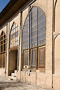 Windows of the Internal courtyard of The Arg (Citadel) of Karim Khan, Shiraz, Iran