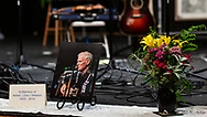 The Mountain Home Music Show in Blowing Rock NC paid Tribute to Doc Watson with songs and shared stories of Doc Watson experiences by Joe Shannon, Steve Lewis, Willard Gayheart and Scott Freeman.  2012-06-02