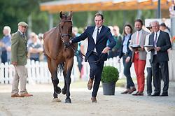 Murphy Joseph, (IRL), Sportsfield Othello<br /> First Horse Inspection <br /> CCI4* Luhmuhlen 2016 <br /> © Hippo Foto - Jon Stroud