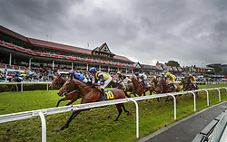 Seeusoon ridden by Duran Fentiman in the TMT Group Handicap during Boodles Ladies Day at Chester Racecourse.