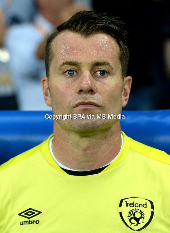 Uefa - World Cup Fifa Russia 2018 Qualifier / <br /> Republic of Ireland National Team - Preview Set - <br /> Shay Given