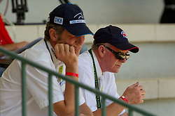 John Whitaker and Ludger Beerbaum<br /> FEI European Jumping Championship - Madrid 2011<br /> © Dirk Caremans