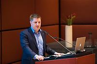 DEU, Deutschland, Germany, Berlin, 04.12.2017: Preisträger Michael Saitner (Segelschiff Thor Heyerdahl) bei der Willy-Brandt-Preisverleihung der Norwegisch-Deutschen Willy-Brandt-Stiftung.