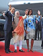 President Obama & Michelle Visit India