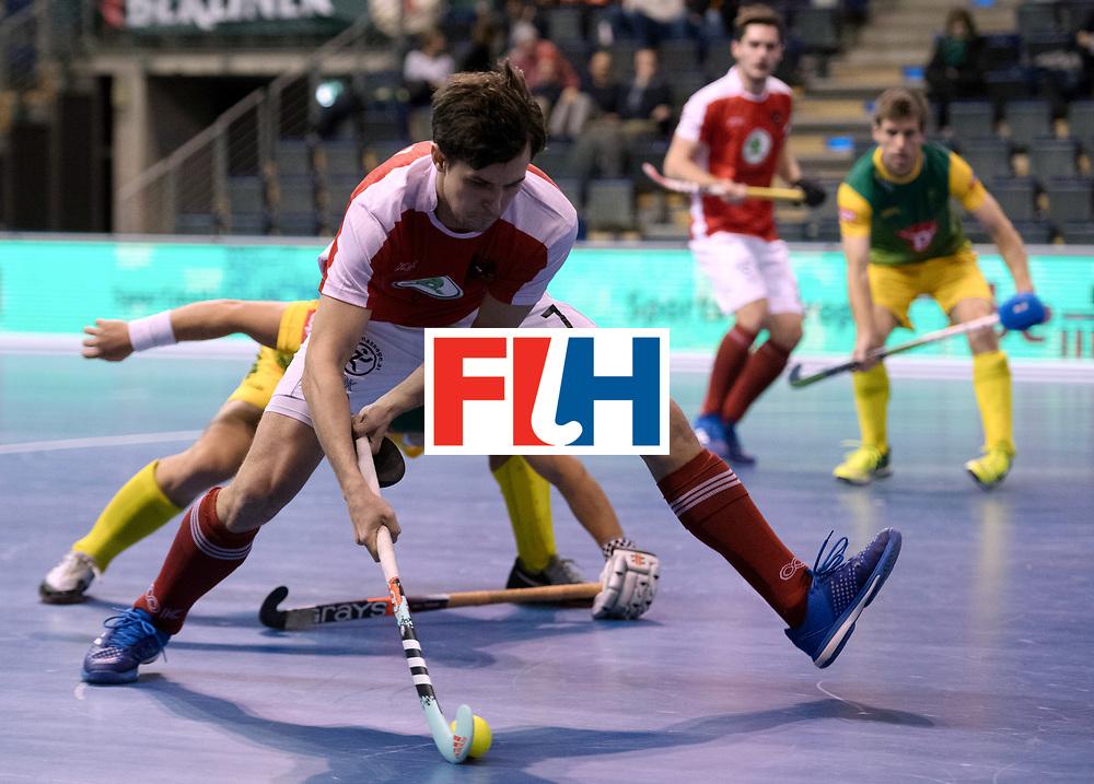 BERLIN - Indoor Hockey World Cup<br /> Austria - South Africa<br /> foto: BELE Alexander<br /> WORLDSPORTPICS COPYRIGHT FRANK UIJLENBROEK