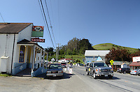 Bodega, Sonoma County, California, USA, town, village, famous because film director, Alfred Hitchcock, shot location scenes for his movie, The Birds, in the town's Roman Catholic Church of St Teresa of Avila. 201304292000<br /> <br /> Copyright Image from Victor Patterson, 54 Dorchester Park, Belfast, UK, BT9 6RJ<br /> <br /> t: +44 28 90661296<br /> m: +44 7802 353836<br /> vm: +44 20 88167153<br /> e1: victorpatterson@me.com<br /> e2: victorpatterson@gmail.com<br /> <br /> For my Terms and Conditions of Use go to www.victorpatterson.com