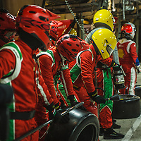 Waiting for #71 AF Corse on 15/06/2019 at the Le Mans 24H 2019