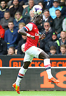 Bacary Sagna of Arsenal in action during the Barclays Premier League match at Carrow Road, Norwich<br /> Picture by Paul Chesterton/Focus Images Ltd +44 7904 640267<br /> 11/05/2014