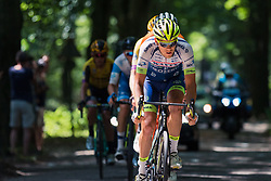 Leaders with in front Wesley Kreder of Wanty - Gobert Cycling Team during 2019 Dutch National Road Race Championships Men Elite, Ede, The Netherlands, 30 June 2019, Photo by Pim Nijland / PelotonPhotos.com | All photos usage must carry mandatory copyright credit (Peloton Photos | Pim Nijland)