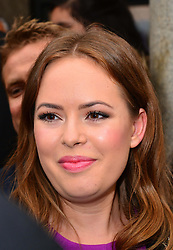 Tanya Burr meet and greet.  Beauty blogger meets with huge crowds and fans outside the Apple store, Covent Garden, The Piazza, London, United Kingdom,  29th May 2013. Photo by Nils Jorgensen / i-Images.
