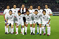 IR Iran National Team Group Line Up (IRI) , lagbilde Team , line-up <br />
