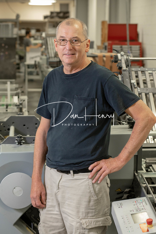 Don Benedict | Print Consultant at Adams Lithographing Co. in Chattanooga Tennessee - Professional Headshots by Dan Henry / DanHenryPhotography.com