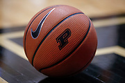 WEST LAFAYETTE, IN - FEBRUARY 25: A Purdue Boilermakers Nike basketball is seen during the game against the Minnesota Golden Gophers at Mackey Arena on February 25, 2018 in West Lafayette, Indiana. (Photo by Michael Hickey/Getty Images)
