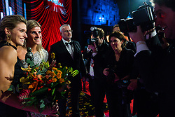 18-12-2019 NED: Sports gala NOC * NSF 2019, Amsterdam<br /> The traditional NOC NSF Sports Gala takes place in the AFAS in Amsterdam / Estavana Polman, Angela Malestein an the press