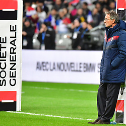 France coach Guy Noves during the test match between France and South Africa at Stade de France on November 18, 2017 in Paris, France. (Photo by Dave Winter/Icon Sport)