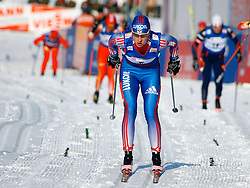 CHANGCHUN, CHINA - SUNDAY, FEBRUARY 25th, 2007: Matveeva Natalia of Russia competes to win the silver medal in the ladies' 1.1 km sprint race at the 2007 FIS World Cup cross-country skiing event. (Pic by Osports/Propaganda)