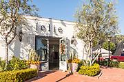 Jolie Clothing Store in Lido Marina Village of Newport Beach