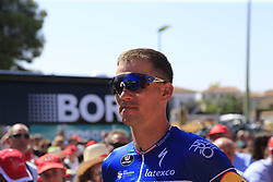 Zdenek Stybar (CZE) Deceuninck-Quick Step at sign on before the start of Stage 5 of La Vuelta 2019 running 170.7km from L'Eliana to Observatorio Astrofisico de Javalambre, Spain. 28th August 2019.<br /> Picture: Eoin Clarke | Cyclefile<br /> <br /> All photos usage must carry mandatory copyright credit (© Cyclefile | Eoin Clarke)