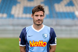 07.07.2015, Rewirpower Stadion, Bochum, GER, 2. FBL, VfL Bochum, Fototermin, im Bild Stefano Celozzi (Bochum) // during the official Team and Portrait Photoshoot of German 2nd Bundesliga Club VfL Bochum at the Rewirpower Stadion in Bochum, Germany on 2015/07/07. EXPA Pictures &copy; 2015, PhotoCredit: EXPA/ Eibner-Pressefoto/ Hommes<br /> <br /> *****ATTENTION - OUT of GER*****