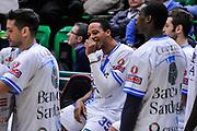 DESCRIZIONE : Campionato 2014/15 Serie A Beko Dinamo Banco di Sardegna Sassari - Upea Capo D'Orlando<br /> GIOCATORE : Kenneth Kadji<br /> CATEGORIA : Before Pregame<br /> SQUADRA : Dinamo Banco di Sardegna Sassari<br /> EVENTO : LegaBasket Serie A Beko 2014/2015<br /> GARA : Dinamo Banco di Sardegna Sassari - Upea Capo D'Orlando<br /> DATA : 22/03/2015<br /> SPORT : Pallacanestro <br /> AUTORE : Agenzia Ciamillo-Castoria/L.Canu<br /> Galleria : LegaBasket Serie A Beko 2014/2015