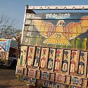 Truck decoration in Punjab.